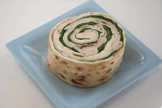 Cheese and Spinach Pinwheels