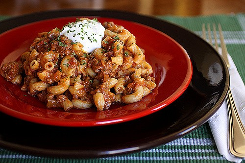 Chili Mac, Photo by Laura Flowers, Flickr commons