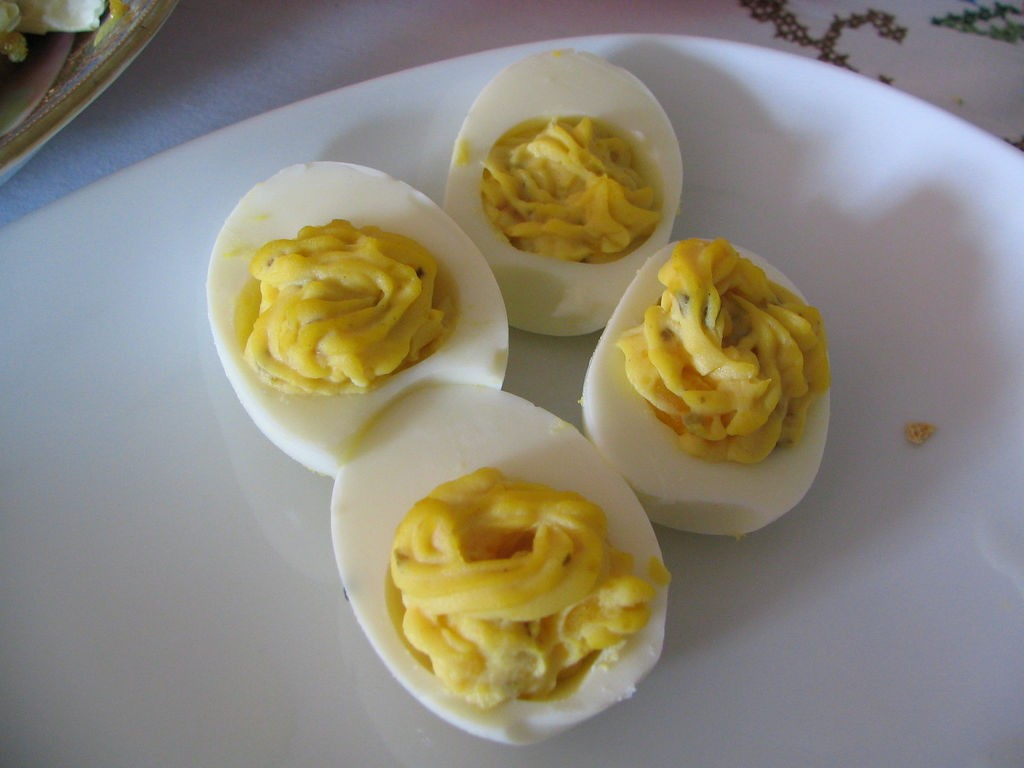 Deviled Eggs, Photo by Boris Mann, Flickr commons