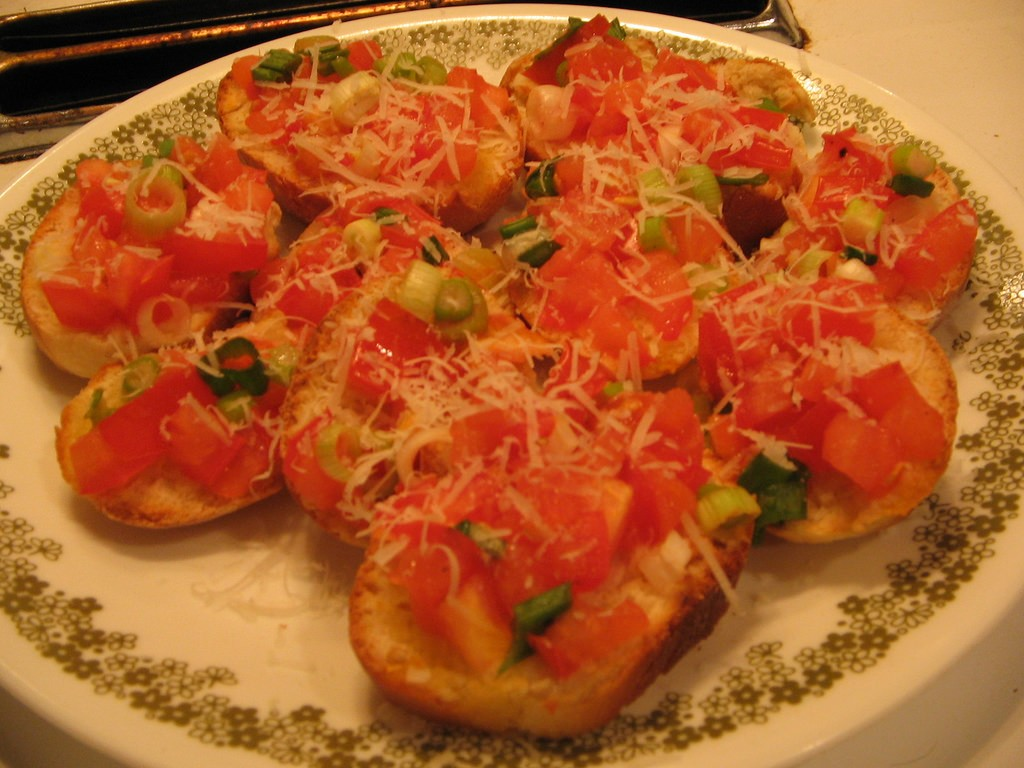 Italian Tomato Bruschetta, Photo by BeckyLee620, Flickr commons