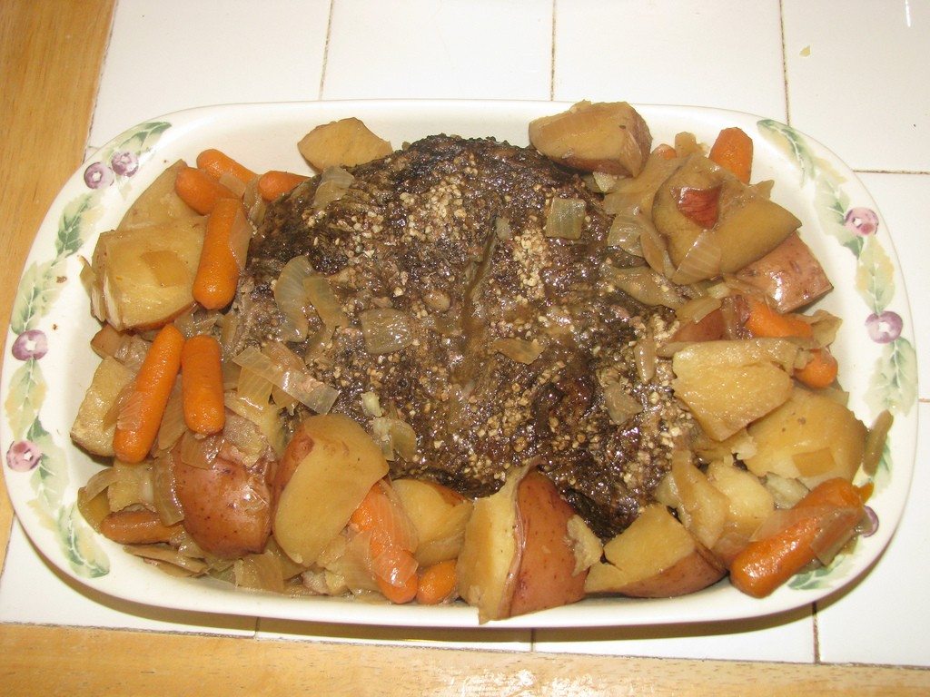 Crock Pot Roast, Photo by Christa Burns, Flickr commons