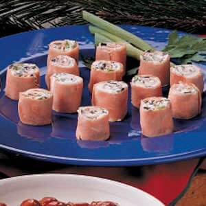 Cream Cheese Ham Roll-Ups